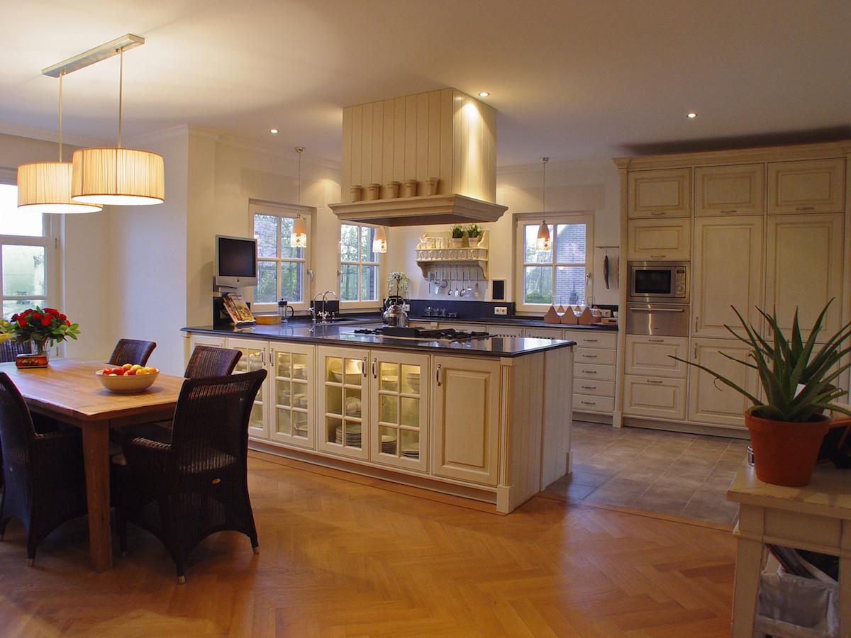 Keuken en Interieur in Engelse stijl – Harry Westhoeve