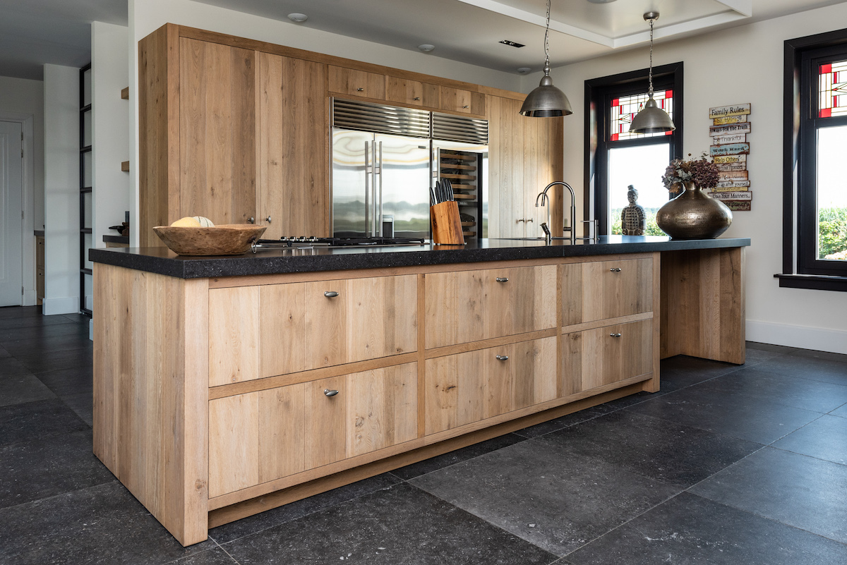 Wonderbaar Stoere landelijke eiken keuken – Harry Westhoeve SC-53